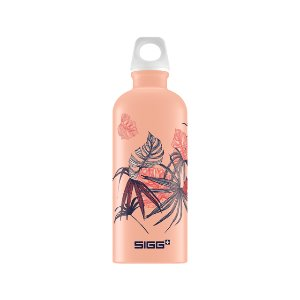 SIGG Water Bottle 600ml Lucid Florid Shy Pink