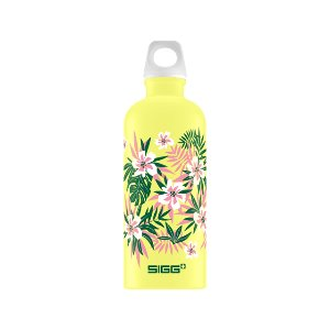 SIGG Water Bottle 600ml Lucid Florid Ultra Lemon